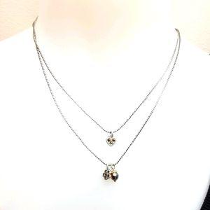 Brighton Silver Heart Charm Necklace